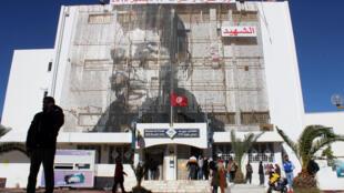 صورة في تونس لمحمد البوعزيزي