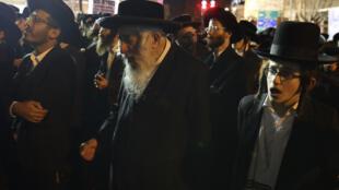 تجمع لليهود الحريديم في إسرائيل