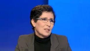 الناشطة الحقوقية في المغرب خديجة الرياضي