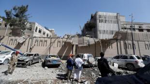 آثار الدمار في اليمن