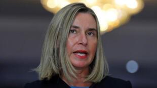فيدريكا موغيريني مسؤولة السياسة الخارجية بالاتحاد الأوروبي