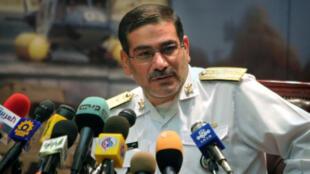 أمين مجلس الأمن القومي الإيراني علي شمخاني
