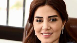 الضابطة سوزان الحاج التي اتهمت الممثل زياد عيتاني بالتعامل مع اسرائيل