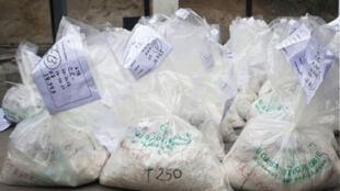 الكوكايين المهرب في كولومبيا