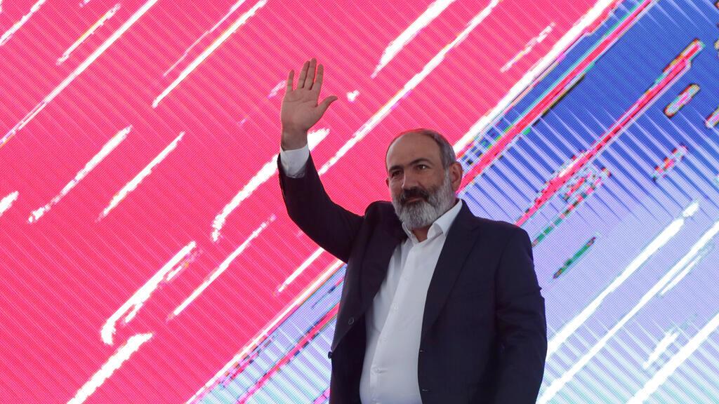 القائم بأعمال رئيس الوزراء الأرمني نيكول باشينيان