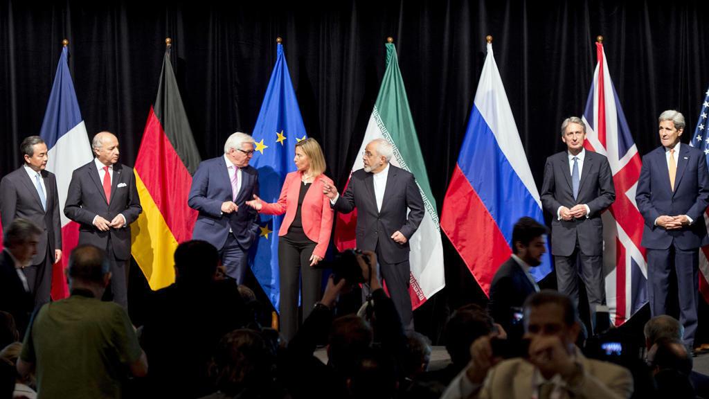 الدول الخمس زائد واحد خلال مفاوضات الاتفاق النووي مع إيران