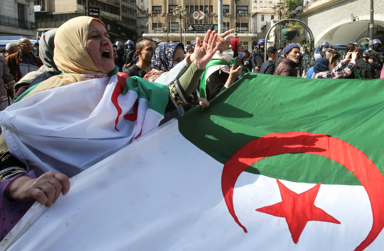 مظاهرة للحراك في الجزائر