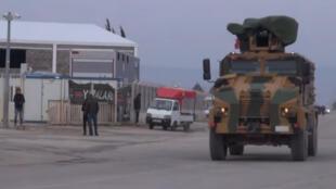عناصر من الجيش التركي في عفرين