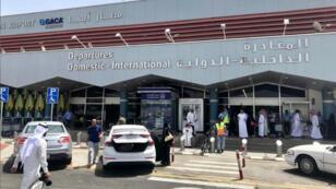 منظر عام لمدخل مطار أبها