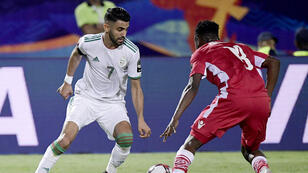 اللاعب الجزائري رياض محرز
