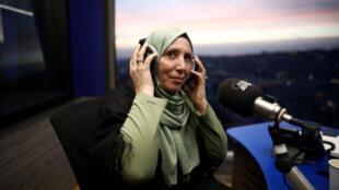 إيمان ياسين خطيب أول نائبة بالكنيست ترتدي الحجاب