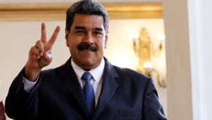 / الرئيس الفنزويلي نيكولاس مادورو