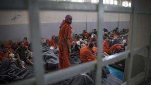 prisonniers en Syrie