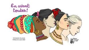 cartooning for Peace - Livre En avant toutes