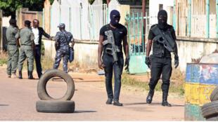 عناصر أمن نيجيرية