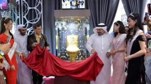 الكشف عن مرحاض مرصع بالألماس في دبي