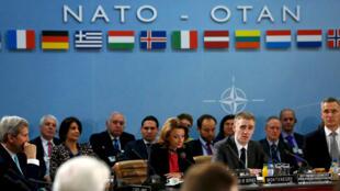 اجتماع وزراء خارجية دول حلف شمال الأطلسي مع وزير خارجية مونتينيغرو في بروكسل