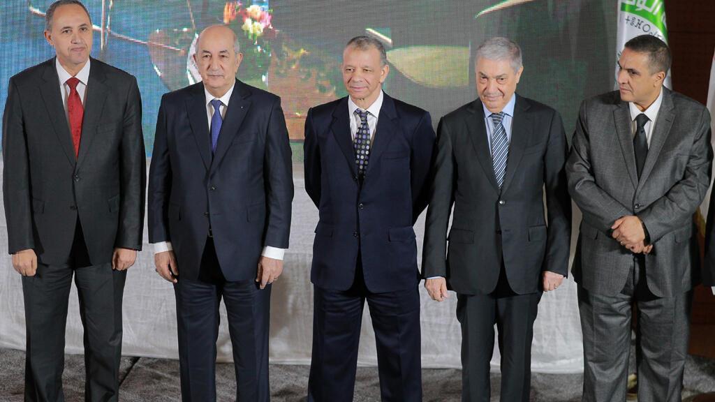 المرشحون الخمسة للانتخابات الرئاسية في الجزائر