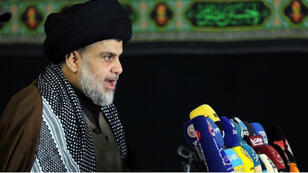 الزعيم الشيعي العراقي مقتدى الصدر