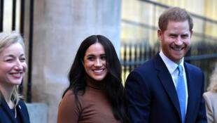 ميغان والأمير هاري حفيد ملكة بريطانيا في كندا