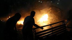 حادث تصادم في مصر