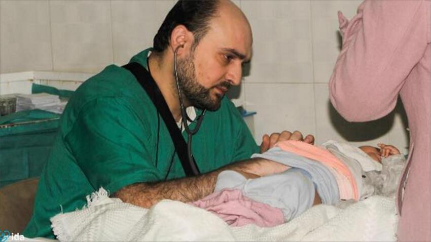 وسيم معاذ آخر أطباء الأطفال في حلب قتل في قصف على مشفى القدس الميداني في 29 نيسان ـ أبريل 2016