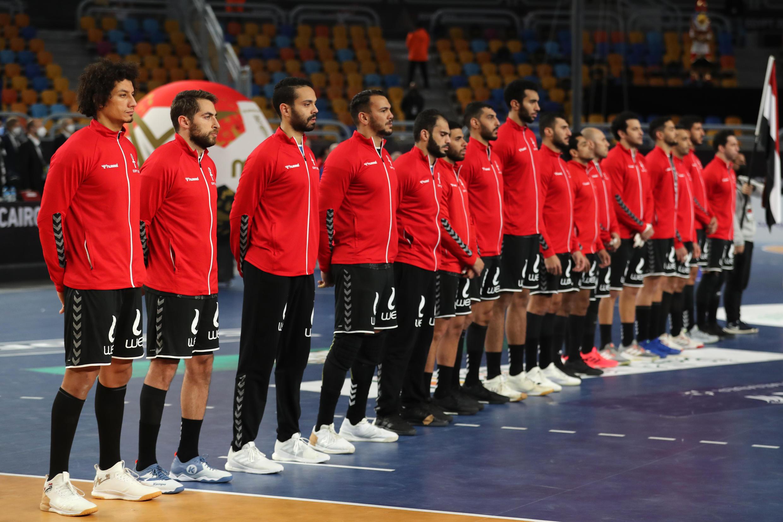 selection egypte handball 22-01 2021