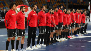 selection egypte handball 22-01 2021