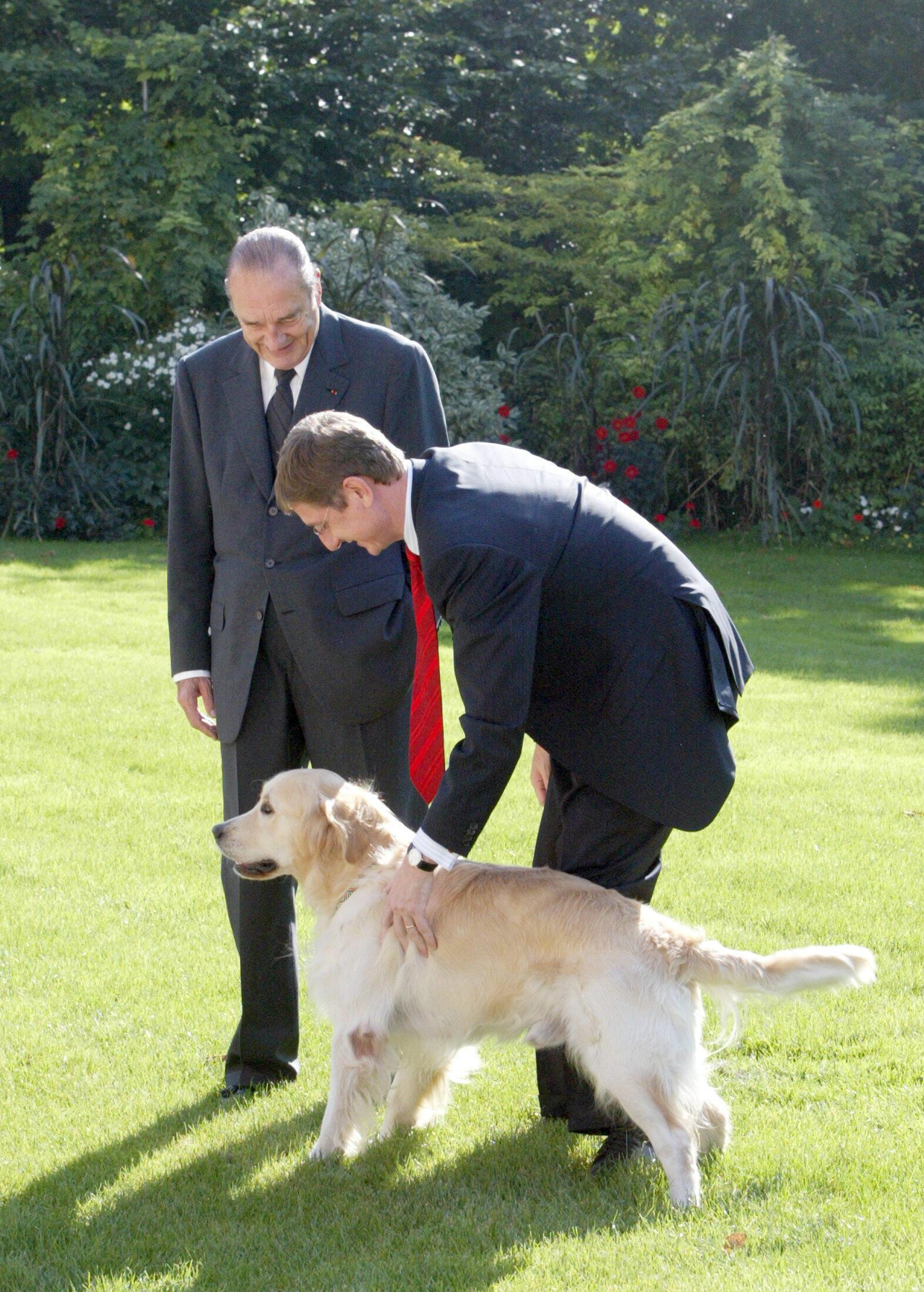 كلب جاك شيراك