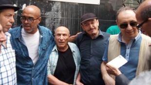 وقفة تضامنية مع الروائي الجزائري رشيد بوجدرة