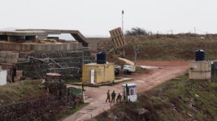 عناصر من الجيش الإسرائيلي في مرتفعات الجولان