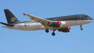 طائرة تابعة للخطوط الجوية الأردنية