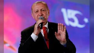 الرئيس التركي طيب رجب أردوغان-