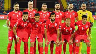 منتخب تونس خلال كأس إفريقيا للأمم 2019