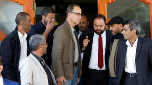 الجنرال الهولندي المتقاعد باتريك كاميرت - الذي يرأس فريقًا متقدمًا تابعًا للأمم المتحدة مكلفًا بمراقبة وقف إطلاق النار في اليمن- يصل إلى صنعاء