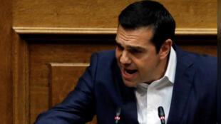 رئيس الوزراء اليوناني ألكسيس تسيبراس