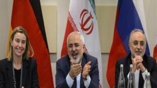 أوربا تسعى لحماية الاتفاق النووي الايراني