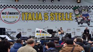 داعمون لحركة خمس نجوم في ايطاليا