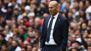Rea-Madrid'-Frenc-coachZinedin-Zidane_afp