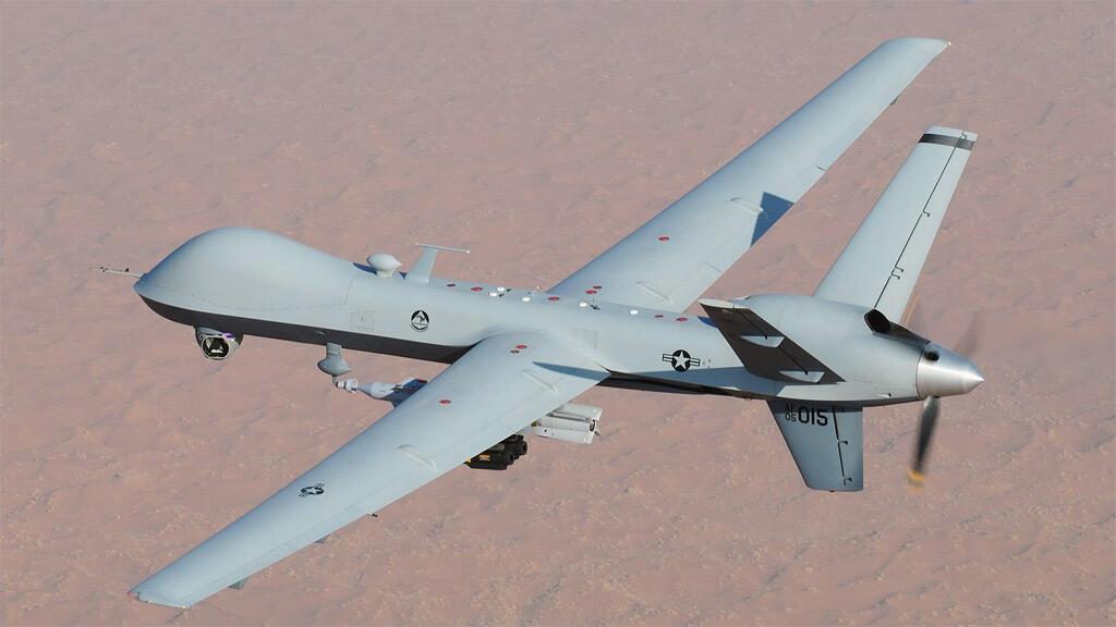 طائرة مسيرة مسلحة أمريكية من طراز إم.كيو-9بي