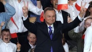 انتخاب أندريه دودا رئيسا لبولندا