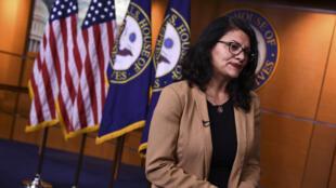 رشيدة طليب، النائبة الفلسطينية في الكونغرس الأمريكي