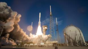إطلاق مركبة الفضاء الأمريكية برسيفيرانس إلى المريخ