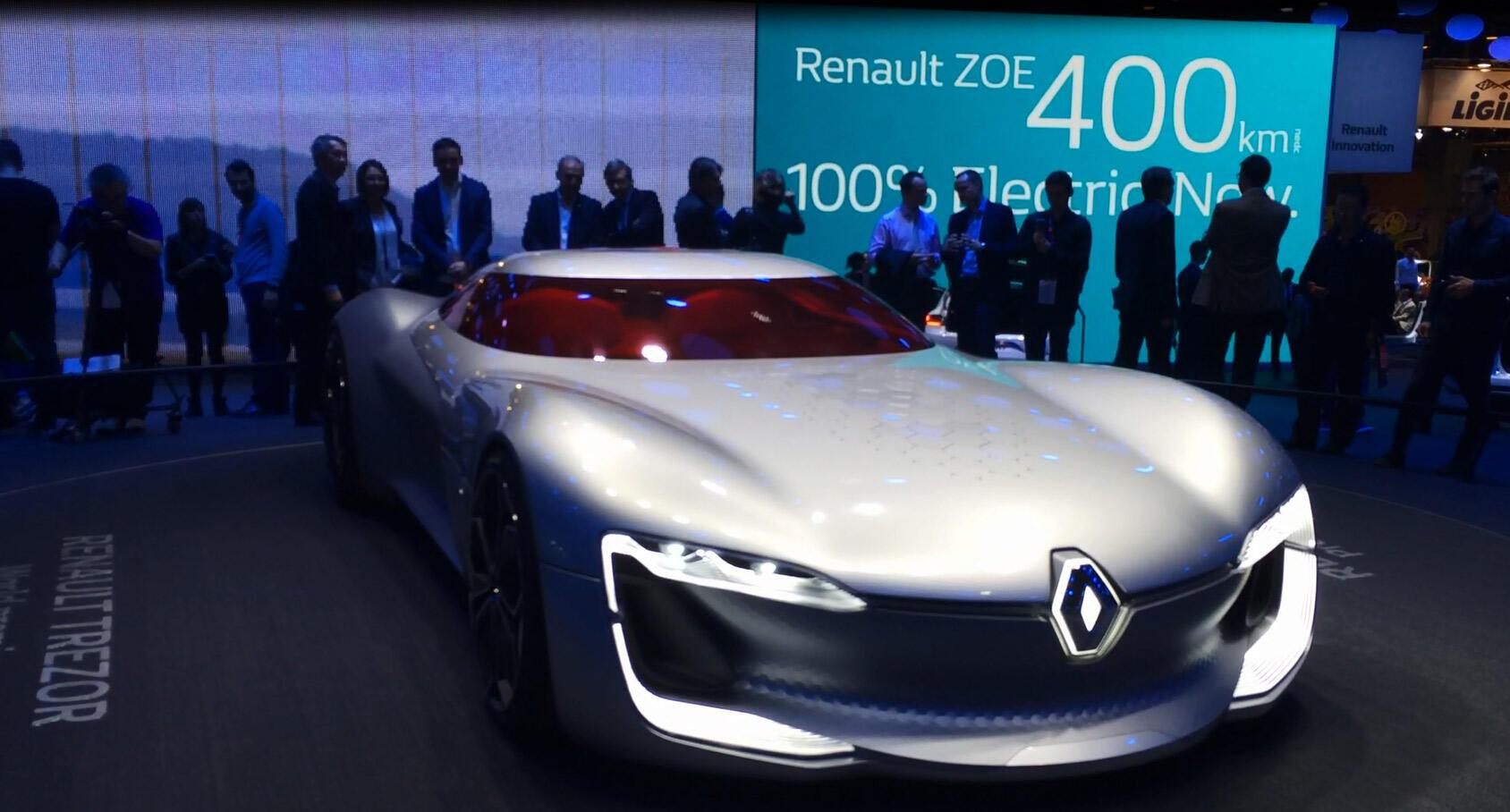 سيارة سيتروين زيو في معرض باريس الدولي للسيارات