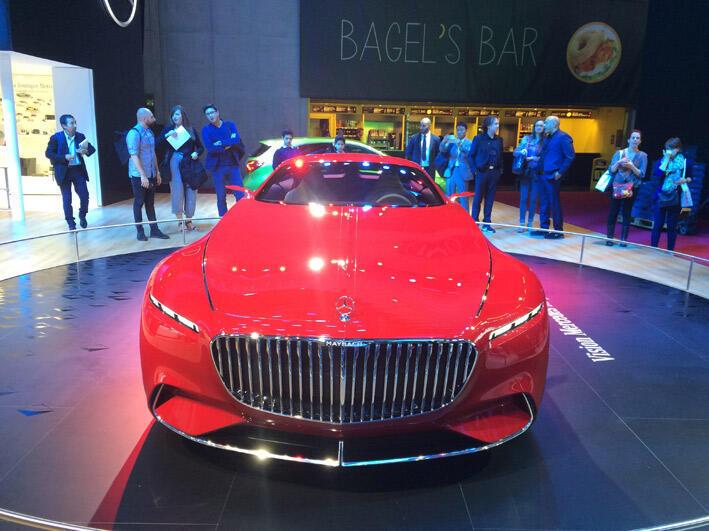 """سيارة """"مارسيدس مايباش 6"""" في معرض باريس الدولي للسيارات"""
