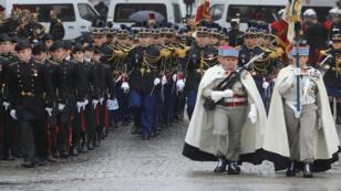 بداية الاحتفال بمئوية ذكرى الحرب العالمية الأولى في باريس