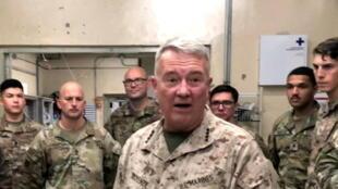 أحد قادة الجيش الأمريكي بمدينة جلال أباد بأفغانستان