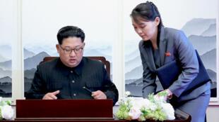 كيم يو جونغ شقيقة كيم جونغ أون في كوريا الجنوبية
