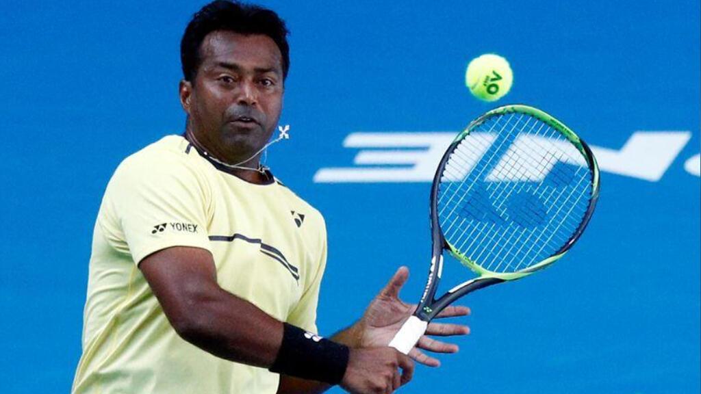لاعب التنس الهندي لياندر بايس
