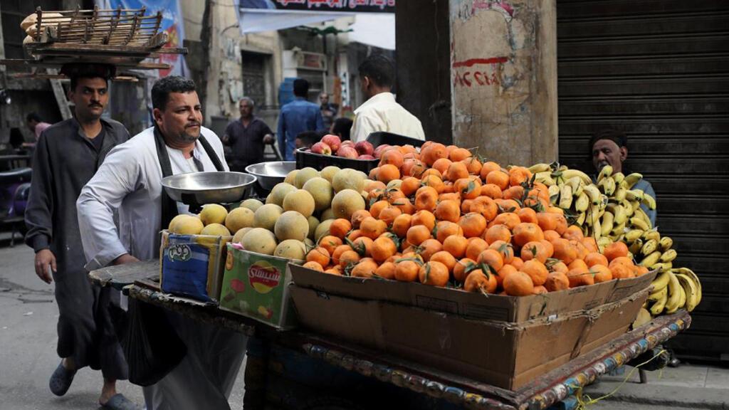 بائع خضر في القاهرة